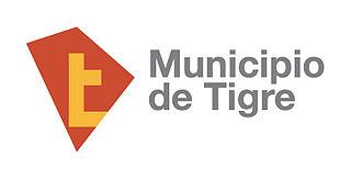 320px bandera logo del partido de tigre