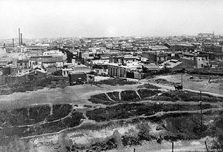 320px parque de los patricios 2c año 1928 2c desde el inst. bernasconi 2c en construcción.  28archivo general de la nación 29