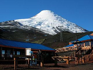 Centro Ski en el Volcán Osorno.