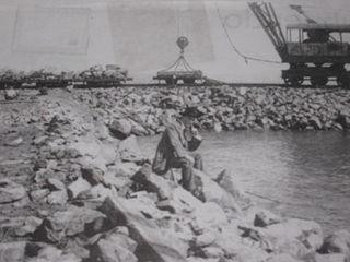 Inicios del puerto de San Antonio.