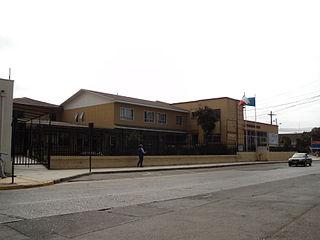 Edificio consistorial de Quintero, en 2011
