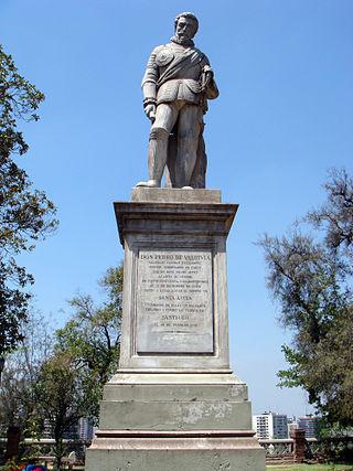 320px estatua de pedro de valdivia en cerro santa lucía