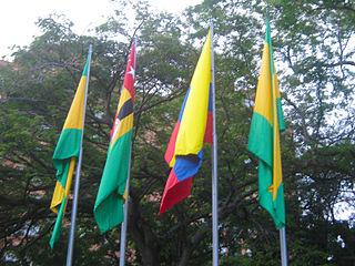 320px banderas en bucaramanga