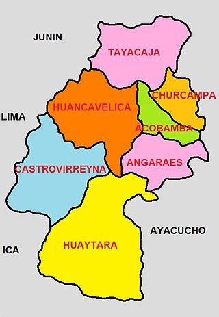 320px división politica de huancavelica