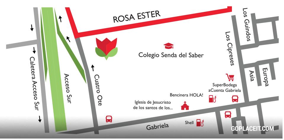 Condominio las rosas de gabriela puente alto rosa ester for Condominio las rosas de gabriela
