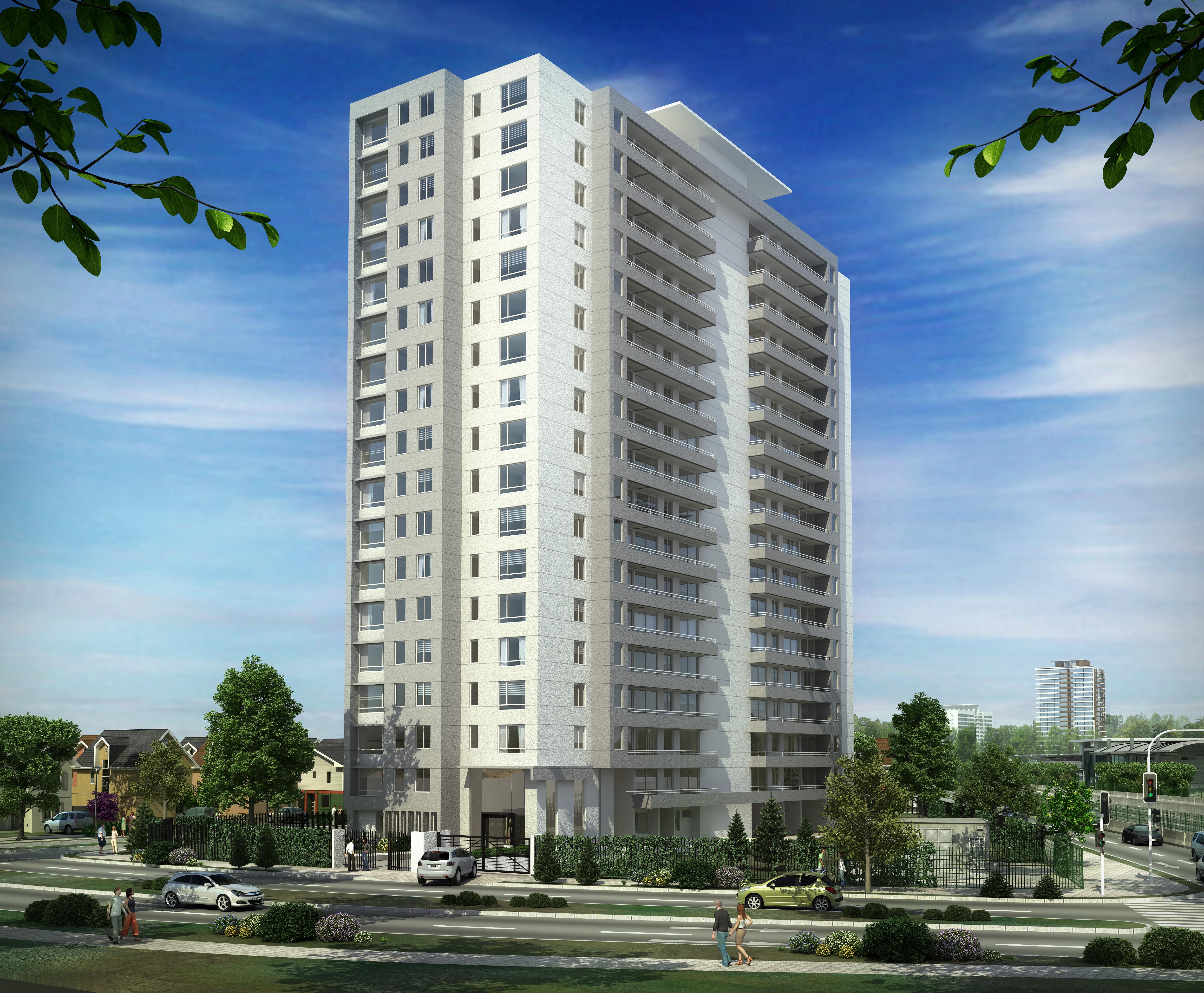 Image gallery edificio for Fachadas de apartamentos modernos