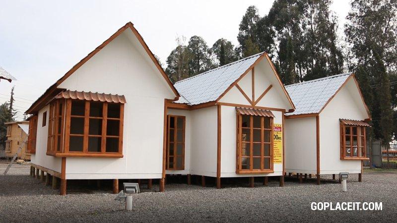 Casas modulares en madera los robles san bernardo jorge for Casas prefabricadas valores