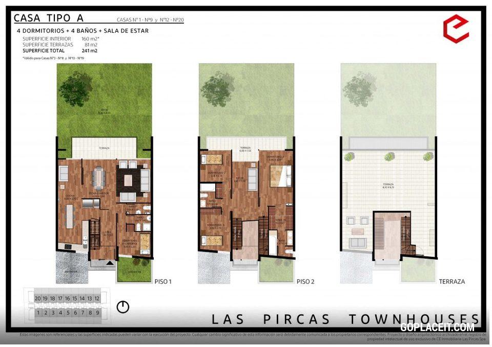 Las Terrazas De Las Pircas Townhouses Peñalolén Juan De