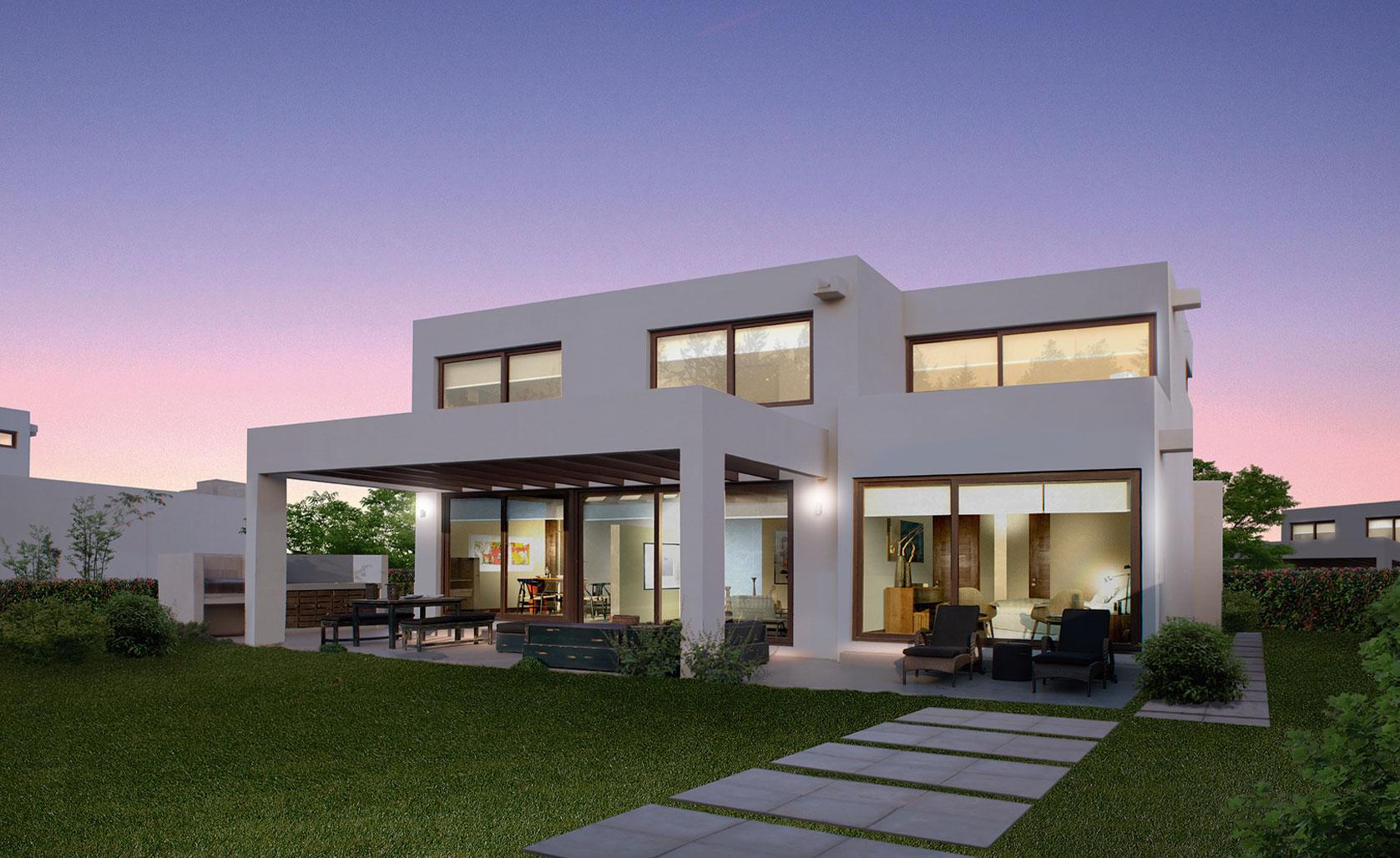 Aguas claras colina av jos rabat 9620 piedra roja for Casa moderna 140 m2